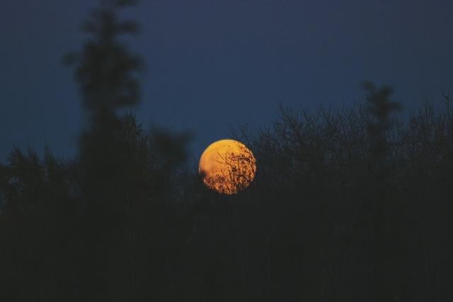 Artistic conception moon sun, nature landscapes.