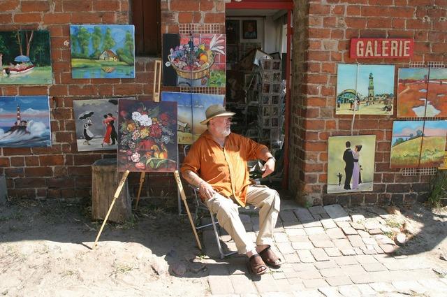 Artists mecklenburg western pomerania life artist.
