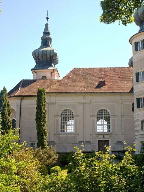Artstetten pöbring hl jakob parish church, architecture buildings.
