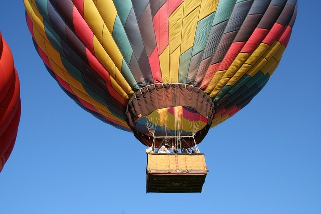 Asheville nc hot air balloon.