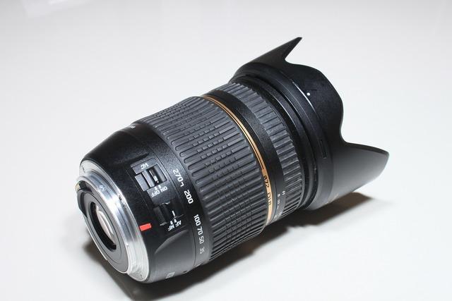 Aspherical dslr lens, science technology.