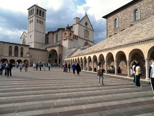 Assisi church italy, religion.