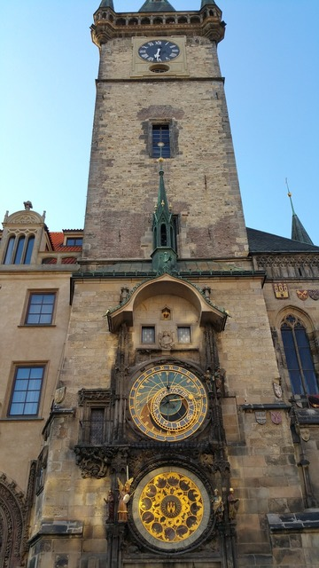 Astronomical clock town square as.
