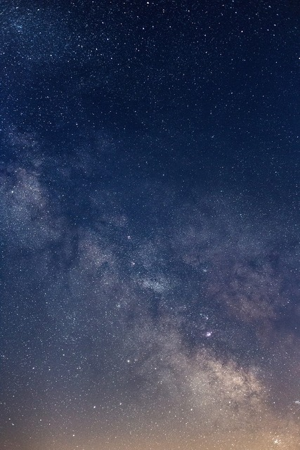 Astronomy constellations milky way, nature landscapes.