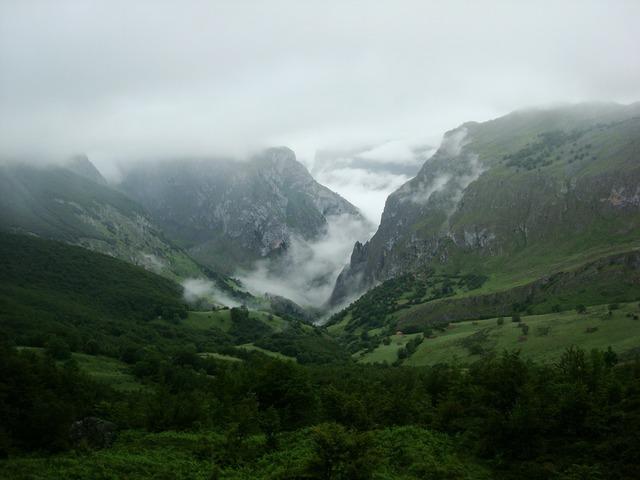 Asturias ascension peak.
