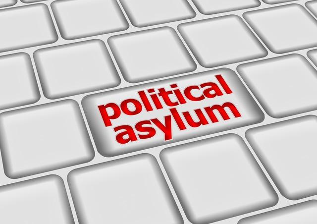 Asylum politically keyboard.