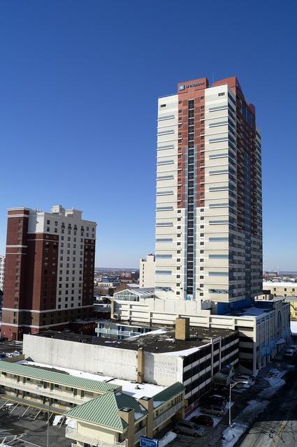 Atlantic city condos new jersey, architecture buildings.