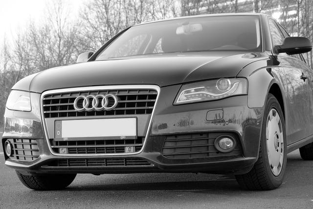 Audi a4 pkw, transportation traffic.