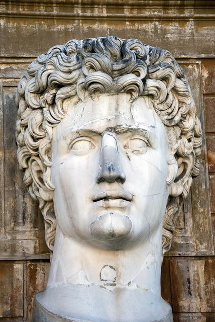 Augustus main statue.