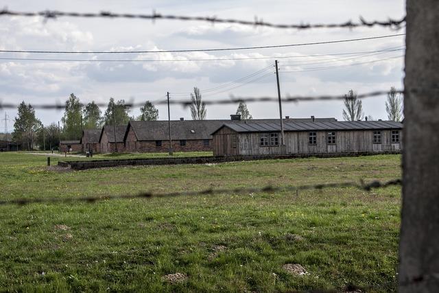 Auschwitz-birkenau stand death, architecture buildings.