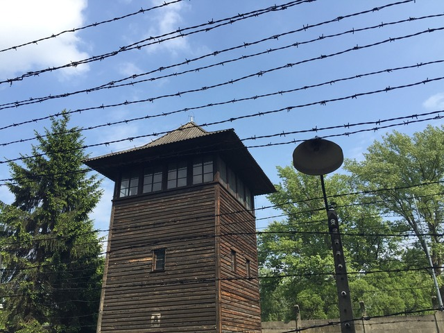 Auschwitz concentration camp poland.