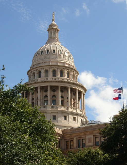 Austin texas capitol, architecture buildings.