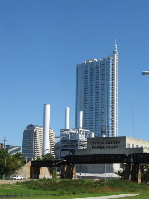 Austin texas high rise, architecture buildings.