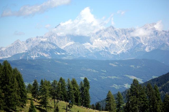 Austria alps mountains summer, nature landscapes.