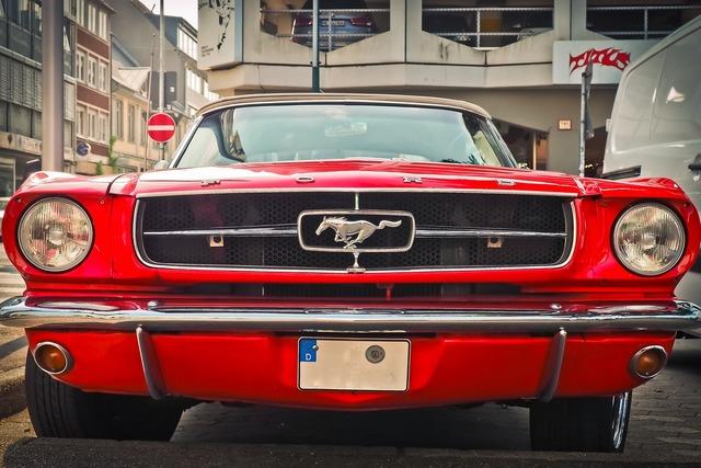 Auto ford oldtimer, transportation traffic.