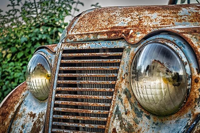 Auto front spotlight.