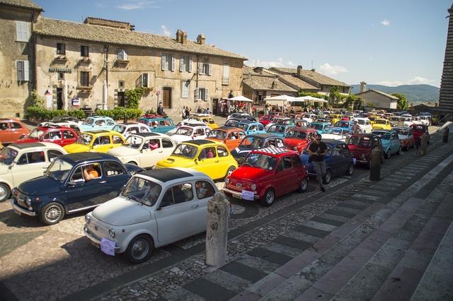 Auto gathering orvieto.