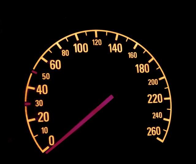Auto kilometer needle.