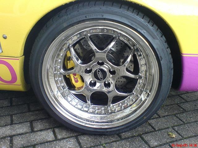 Auto mature wheels.