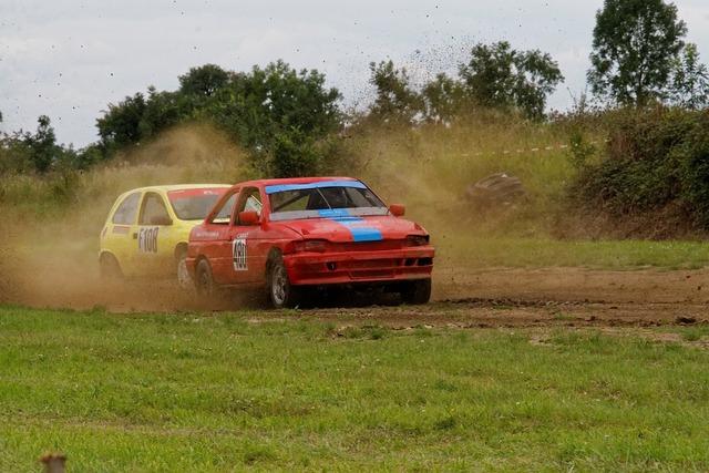 Autocross motorsport ford, transportation traffic.