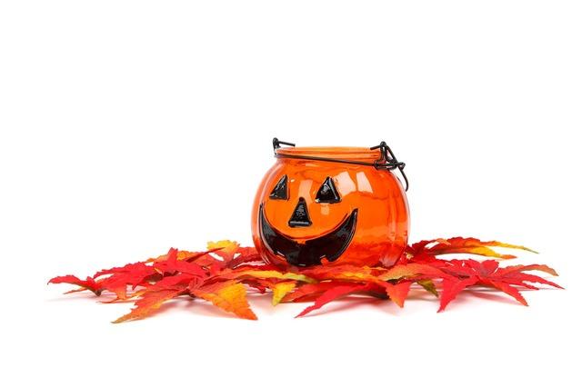 Autumn decoration face, emotions.