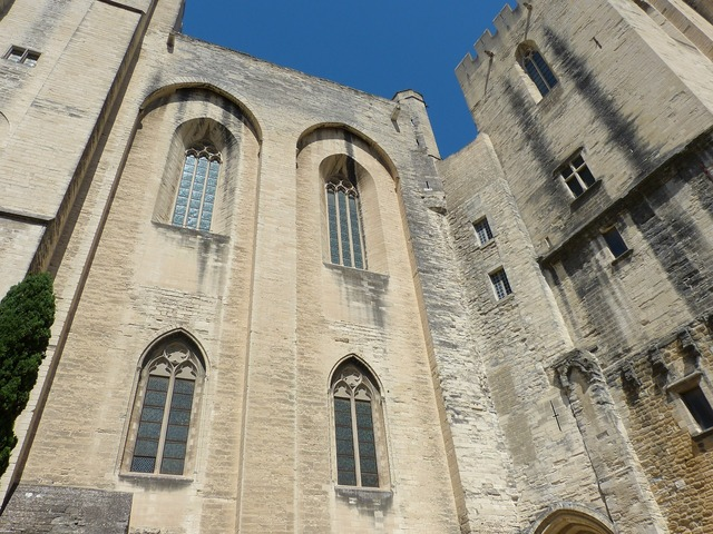 Avignon france palais des papes, architecture buildings.