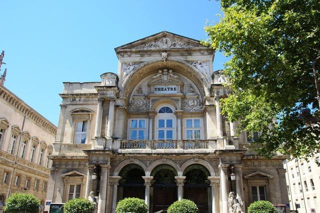 Avignon opera france, architecture buildings.