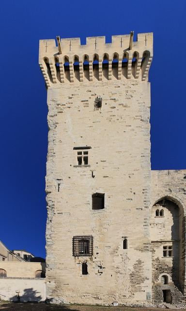 Avignon tower architecture, architecture buildings.