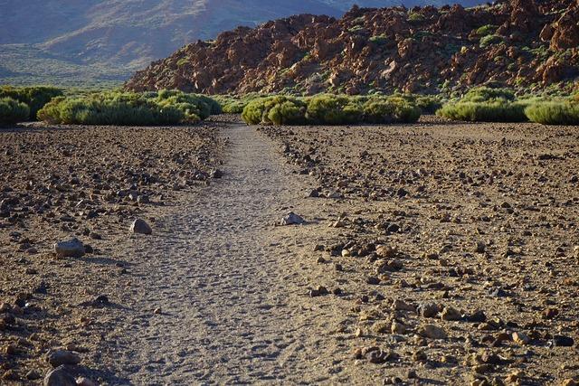 Away path sand.