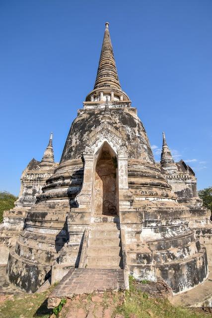 Ayutthaya old city ancient.