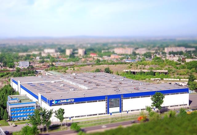 Azia avto company kazakhstan, industry craft.