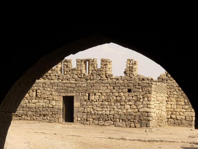 Azraq qasr azraq jordan, travel vacation.
