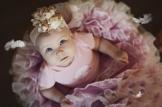 Baby girl ballerina, people.