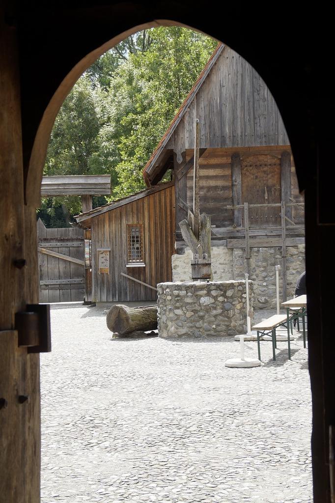 Bach ritterburg knight's castle castle, architecture buildings.