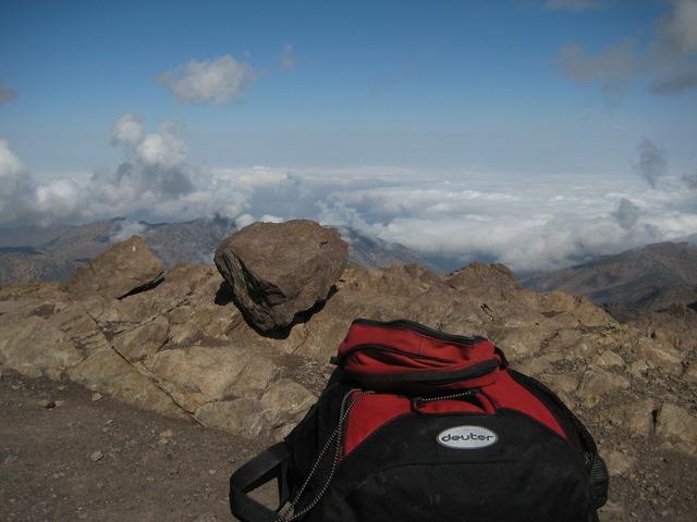 Backpack mountains deuter.