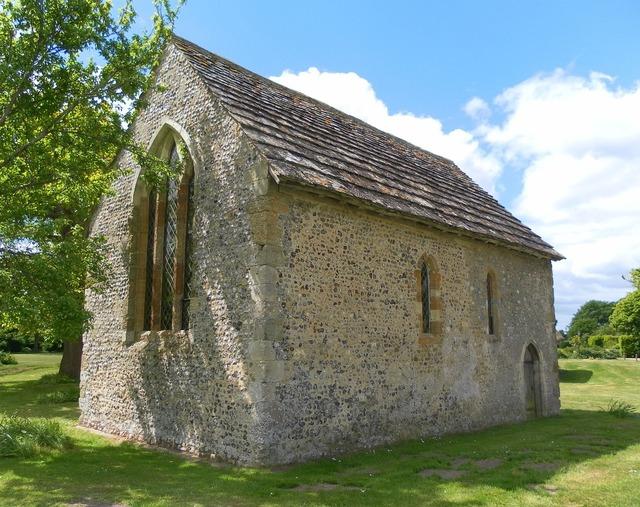 Bailiffscourt chapel atherington, architecture buildings.