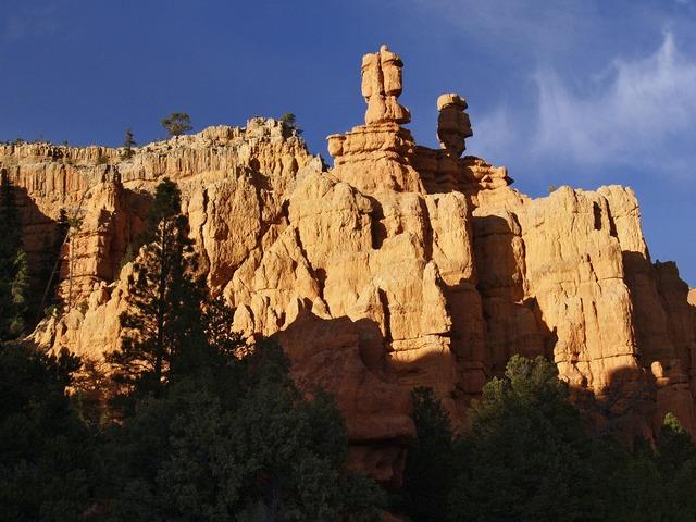 Balanced rocks dixie national forest usa.