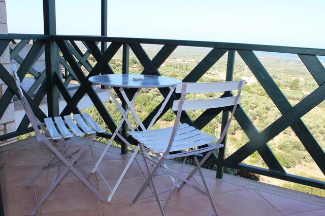 Balcony finka idyll.