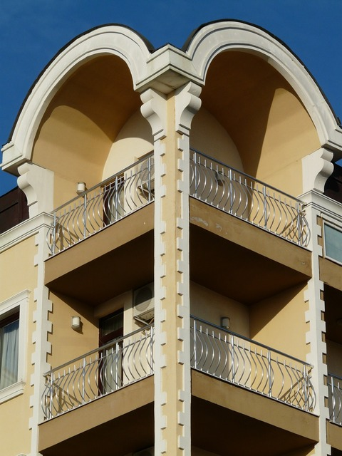 Balcony home building, architecture buildings.