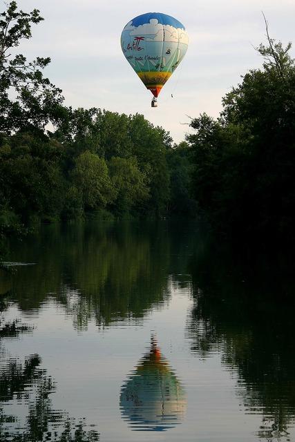 Ball montgolfier charente.
