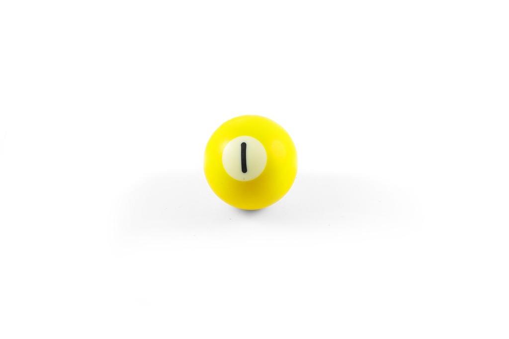 Ball yellow pool.