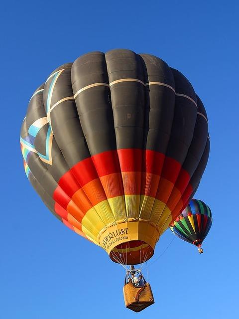 Ballons hot air balloon air sports.