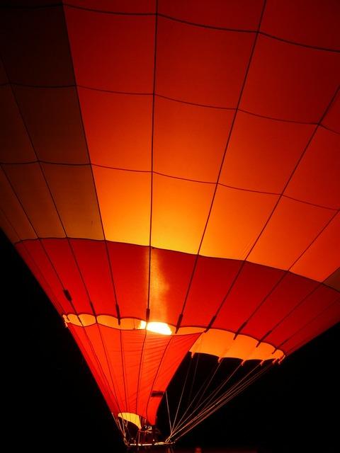 Balloon hot air balloon balloon glow.