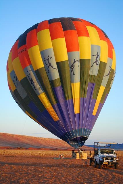 Balloon namibia fly.