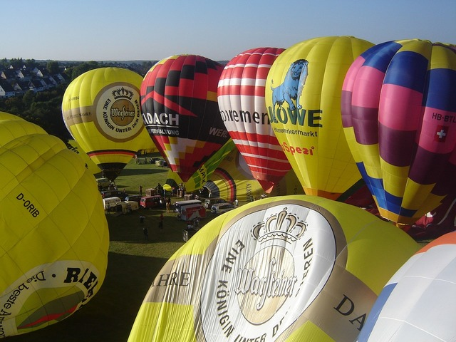 Ballooning balloon launch hot air balloon.