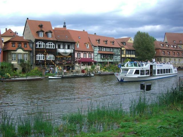 Bamberg small venice regnitz.