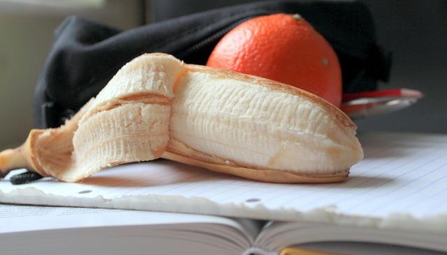 Banana mandarin fruit, food drink.