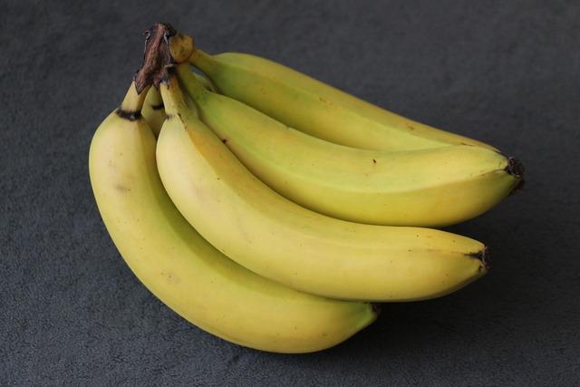 Banana yellow green, food drink.
