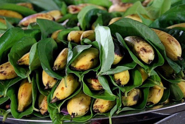 Bananas fruit fresh, food drink.