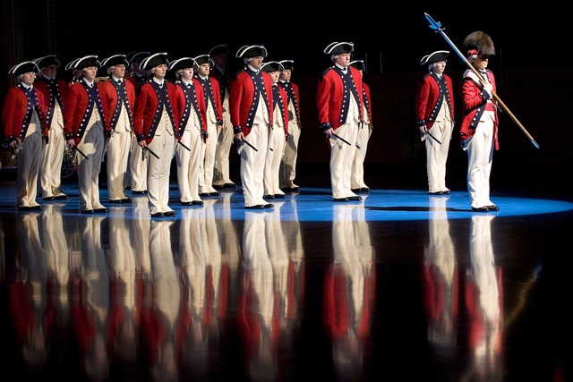 Band military historical.